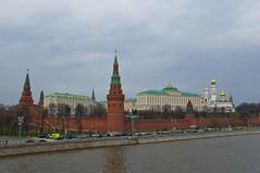 Vue sur le Kremlin depuis le Pont Bolshoy Kamenny