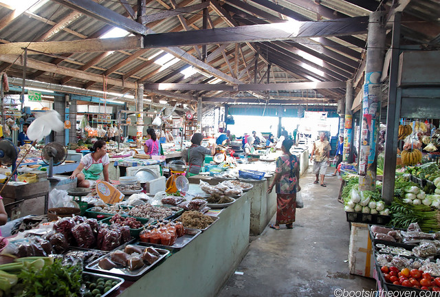 One of Koh Samui's many markets