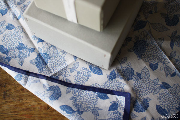 yonagadou handkerchief / furoshiki wrapping cloth