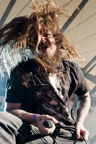 Kvelertak @ Rock Hard Festival 2012 by Joachim Ziebs