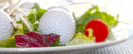 Mantenerse sano por dentro y por fuera ayudará a jugar mejor al golf