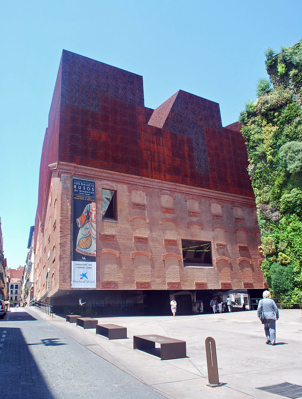 Caixa forum, Madrid, Spain