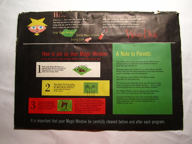 Winky dinky and you 50s interactive tv program kit