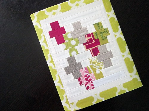 Whimsy Plus journal cover