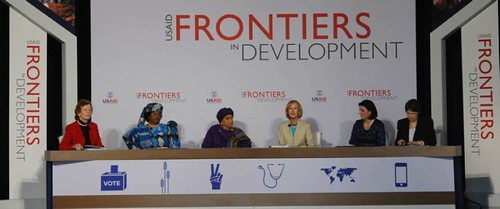 usaid frontiers in dev., PBS