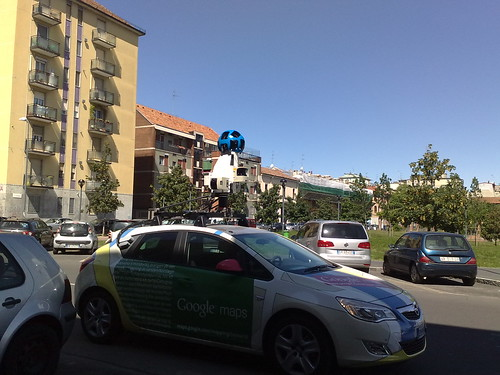 Sorpresa Google Street View by durishti