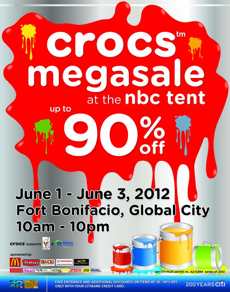 Crocs Megasale Poster