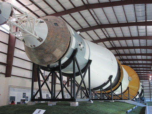 Houston Johnson Space Center: Saturn V