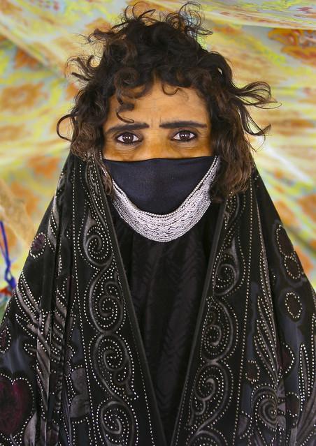 Rashaida Tribe Woman Near Massawa, Eritrea