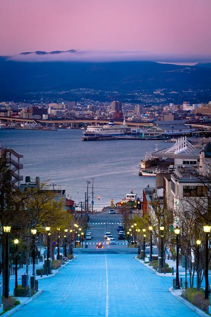 比起百萬夜景,我更喜歡函館的這個角度。