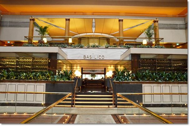 Basilico @ The Regent Hotel, Singapore