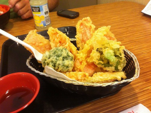 Vegetable Tempura by raise my voice