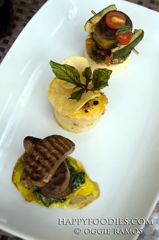 Ambassador Trio of Tenderloin Gratin and Lamb