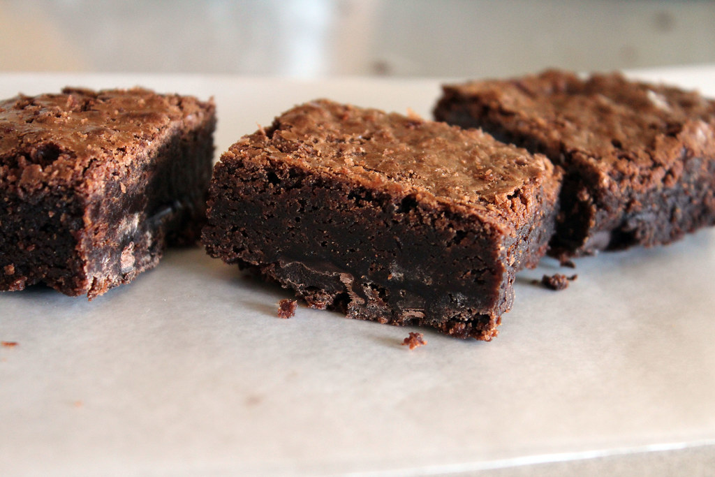 chewy brownies, not delivered