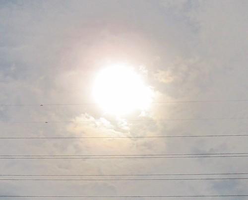 金環日食 2012年5月21日7:33 by Poran111