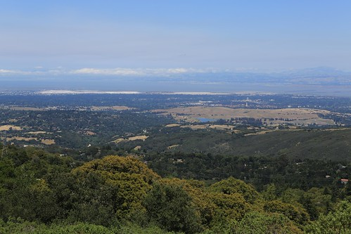 Silicon Valley from Skyline Ridge