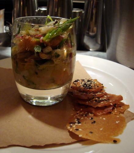 Shrimp, Scallop, Calamari Ceviche