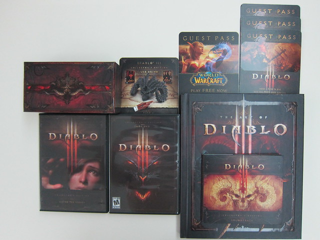 Diablo III: Collector's Edition - Box Content