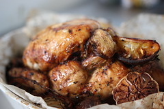 Roast Garlic and Lemon Chicken