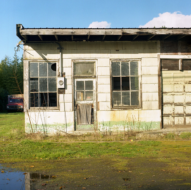 Proebstel garage, Andrew D. Barron©11/23/11
