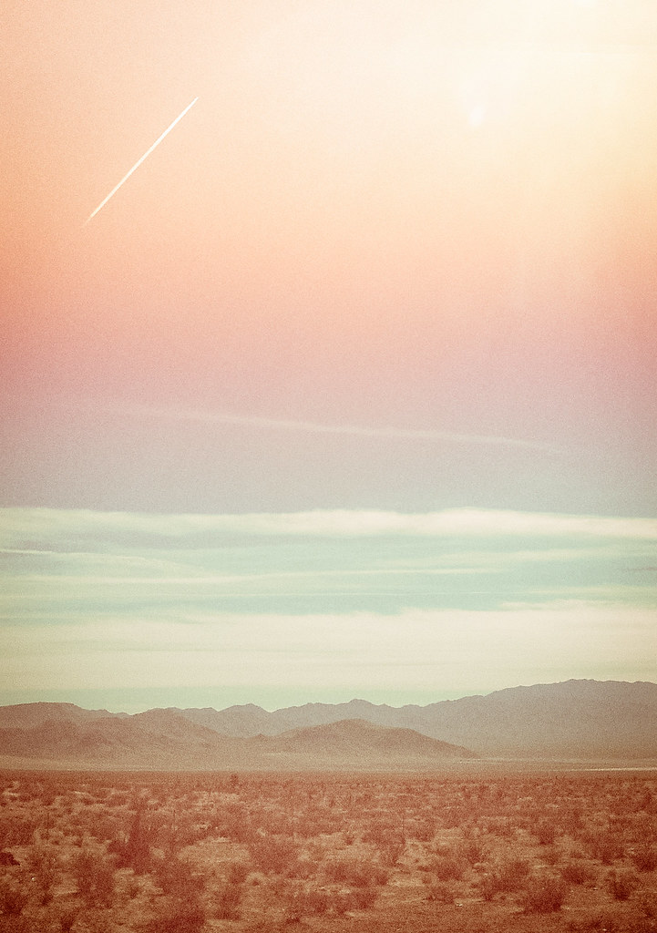 ETC INSPIRATION BLOG LANDSCAPE NATURE PHOTOGRAPHY DESERT PASTEL SUMMER SKY SKIES Untitled by Jaclyn Sollars, on Flickr