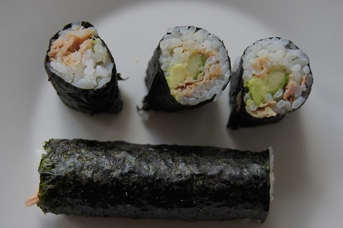 Homemade Sushi - pieces
