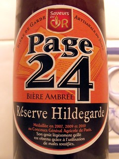 Saint-Germain, Page 24 Hildegarde Biere Ambrée, France