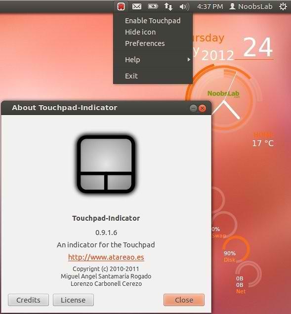 ubuntu touchpad