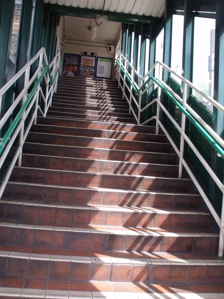 Duddeston Station - stairs