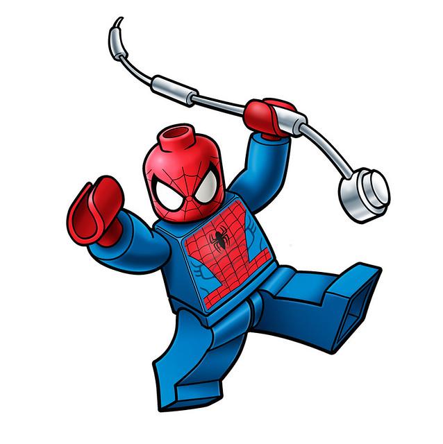 lego spiderman logo | Flickr - Photo Sharing!