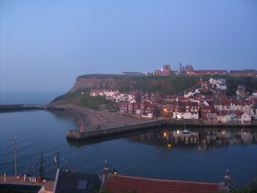 Whitby in the dusk...