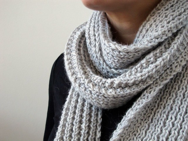 Mistake Stitch Scarf