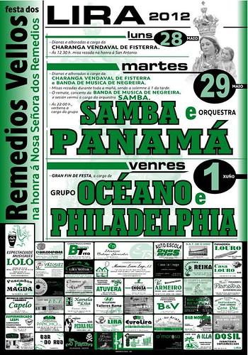 Carnota 2012 - Festa dos Remedios Vellos en Lira - cartel