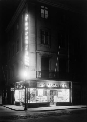 J.C. Alvarez, Rua Augusta (M. Novaes, c.1947)