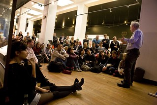 Simon Wessely speaking at the Science Museum Lates, April 2012