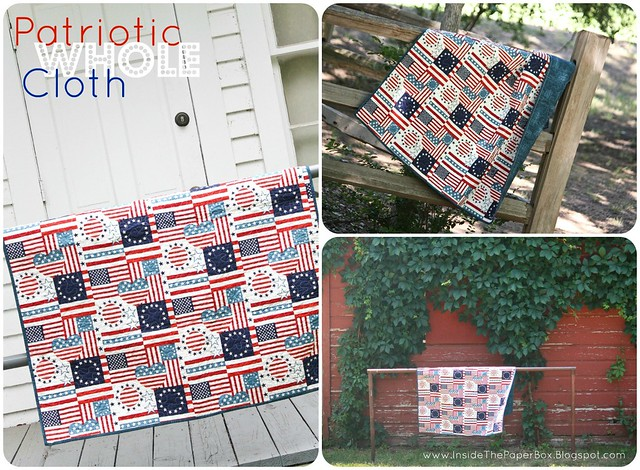 Patriotic Whole Cloth