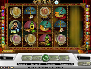 Mystery at the Mansion slot game online review