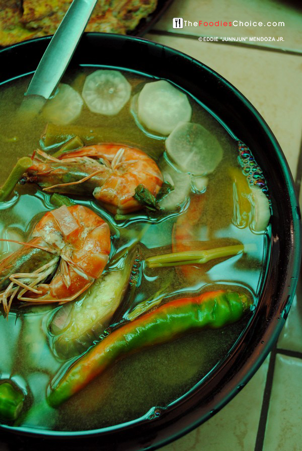 Sinigang na Hipon at Smoke Resto Boracay