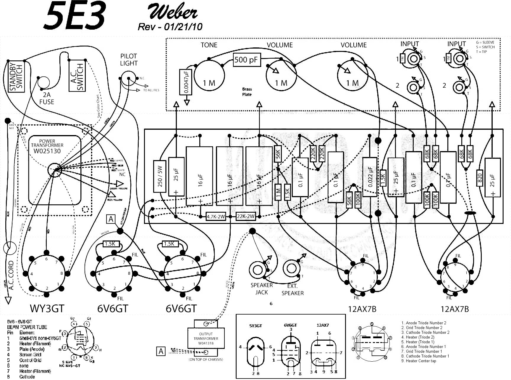 1957 5e3 Fender Deluxe