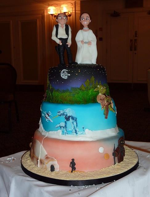 Star Wars Wedding Cake Images : Star Wars Wedding Cake Flickr - Photo Sharing!