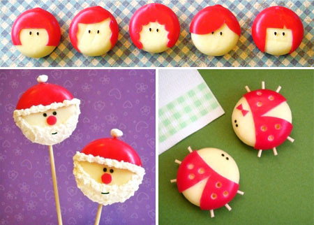 Formas de queso Mini Babybel