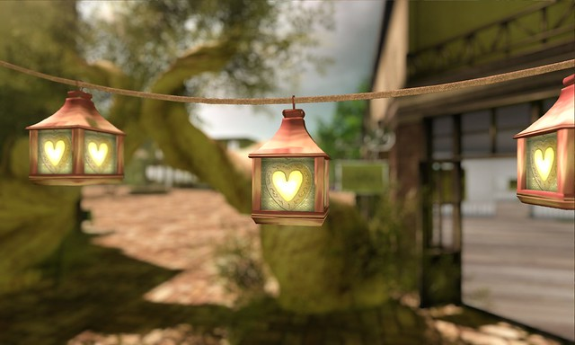 heart shaped lamps