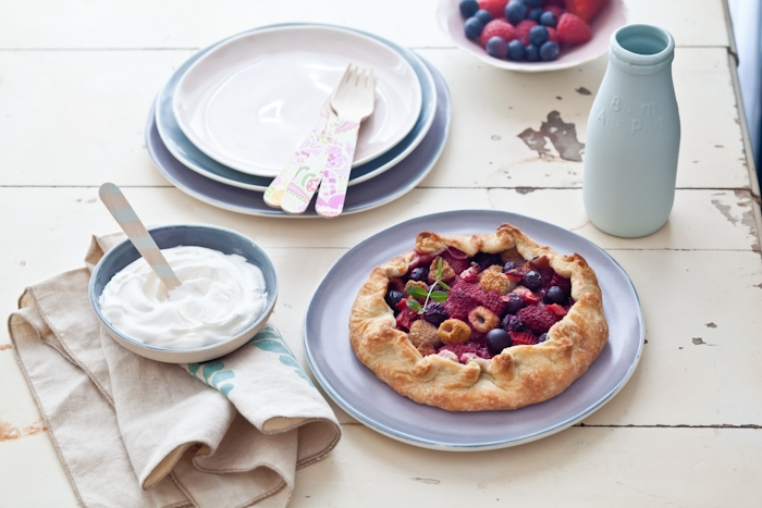 Mixed Berries Galette