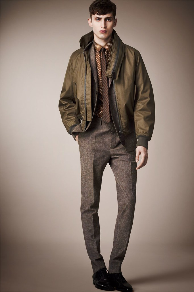 Charlie France0265_Burberry Prorsum's Pre-​​Spring 2013 Collection(Homme Model)