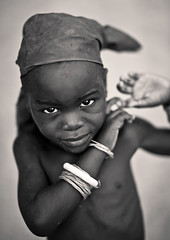 Young Mukubal Girl, Virie Area, Angola
