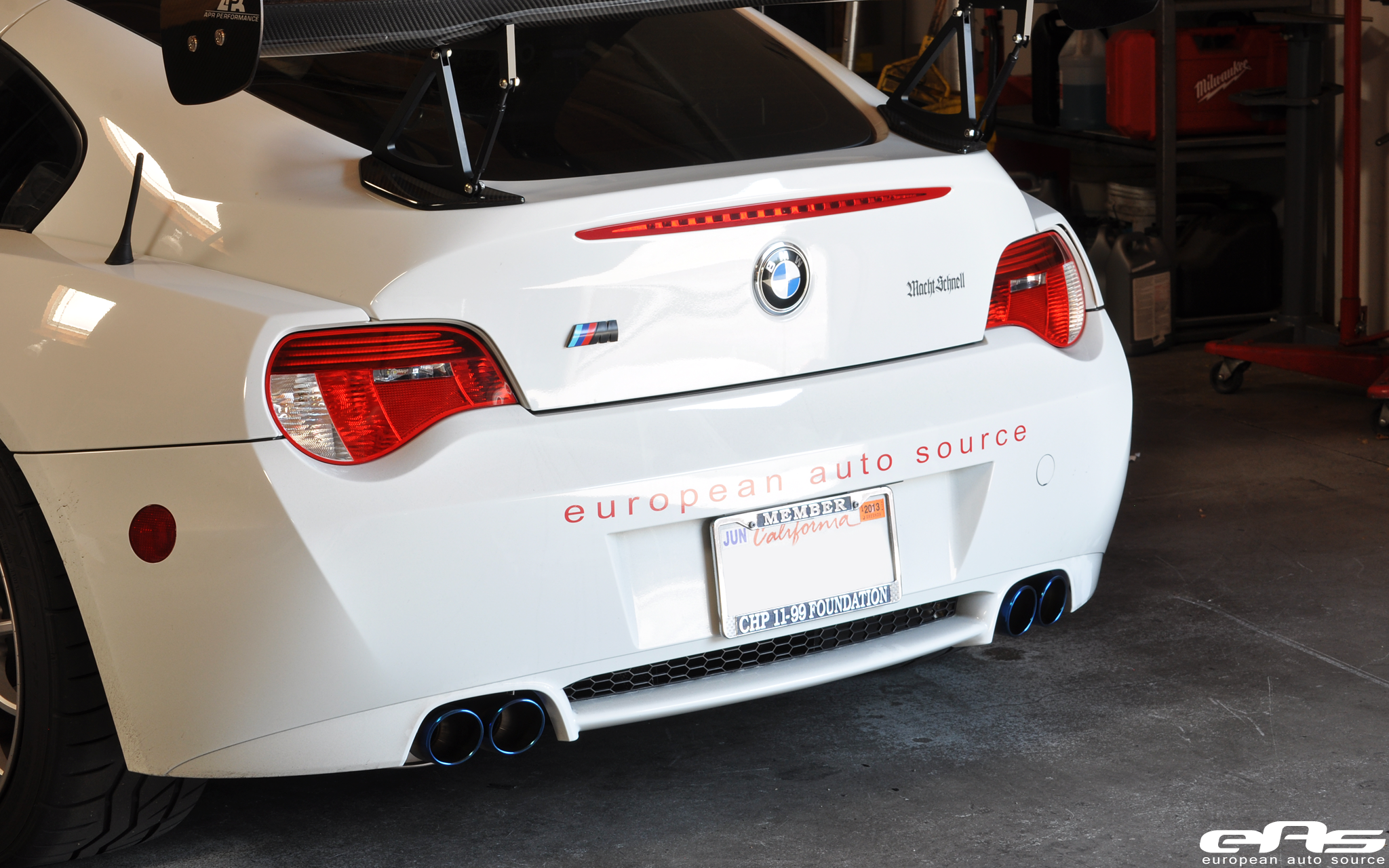 Bmw Z4m Exhaust Eisenmann Performance Exhaust Bmw E85