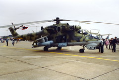 Czech Mil 24RV 0710 at Mildenhall Air Fete 2000
