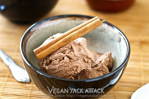 Chocolate Sriracha Ice Cream | Vegan Yack Attack