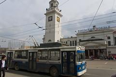 Bus devant la gare Kievsky