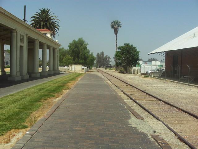 Platform of The In Santa Fe Depot Redlands